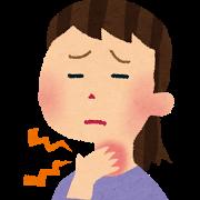 のどの違和感・咽頭痛・頸部の腫れ